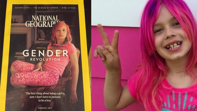 Menina transgênero será capa da edição de janeiro da National Geographic 1