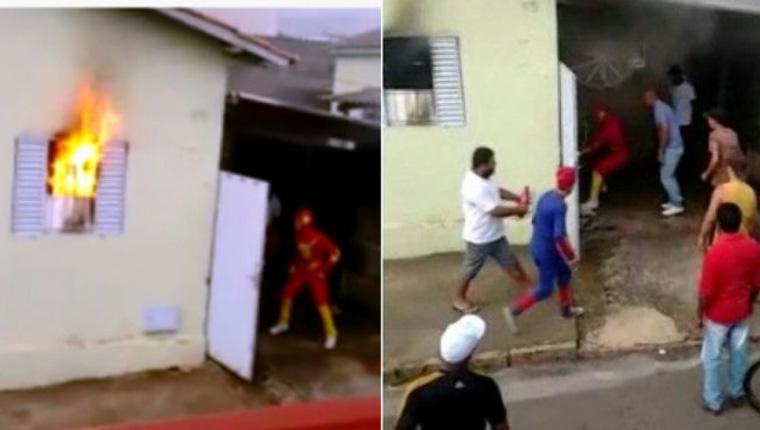 Heróis da Carreta Furacão salvam família de incêndio criminoso em Minas 1