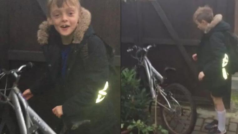 Depois de apelo da mãe, ladrões devolvem bike a menino no aniversário da morte do pai 1