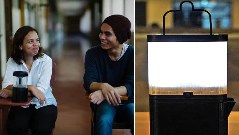 Irmãos filipinos criam lâmpada que precisam apenas de água salgada para funcionar 1