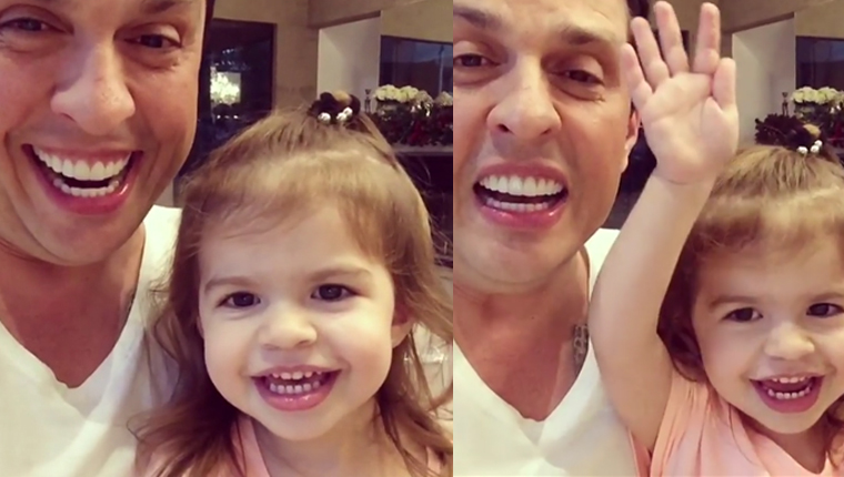 Ceará ensina filha a imitar Silvio Santos no vídeo mais fofo de 2016 3