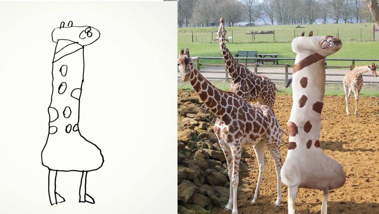 Pai transforma desenhos do filho de 6 anos em realidade 2