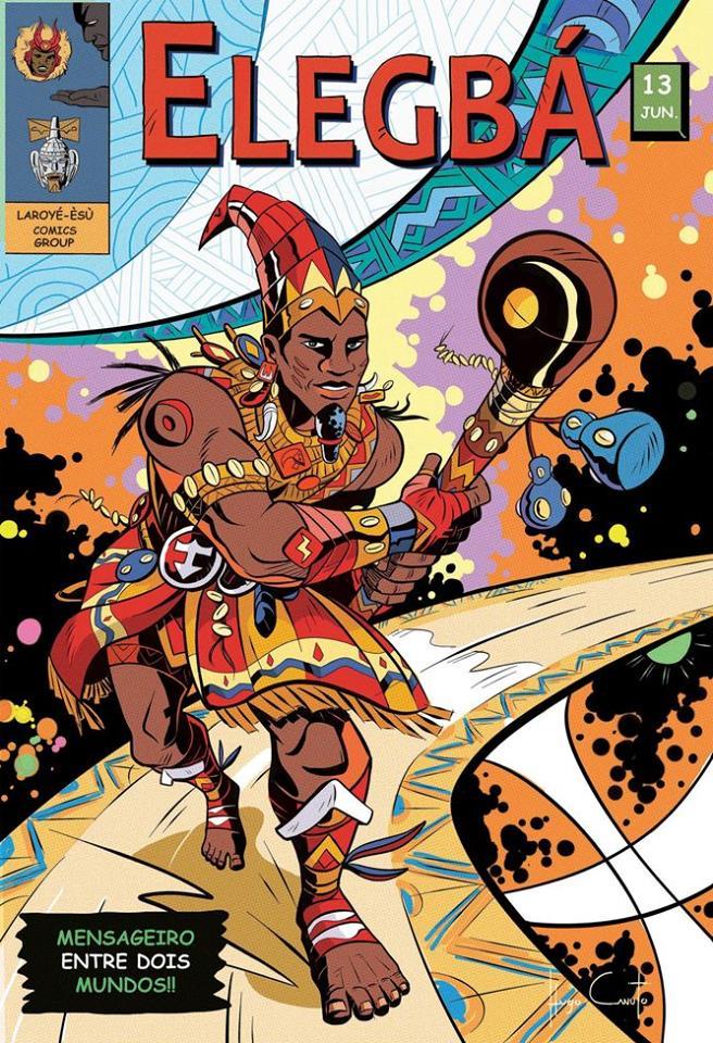 quadrinhos cultura yourubá