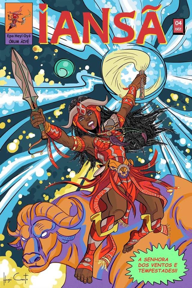 quadrinhos cultura yorubá