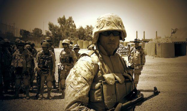 Hrebid trabalhou como tradutor para o exército dos EUA. Foto: Reprodução