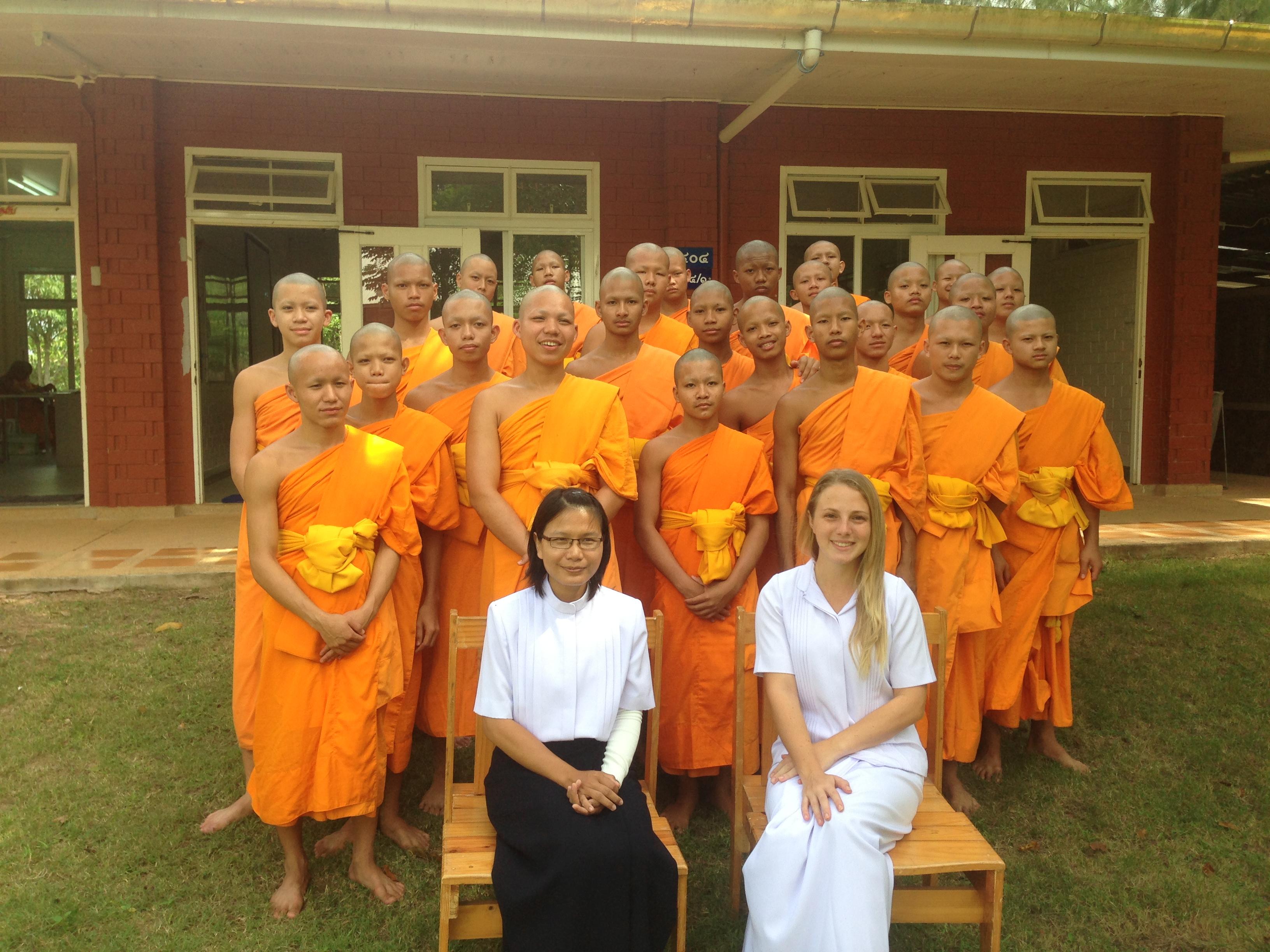 Tailandia - monges 2