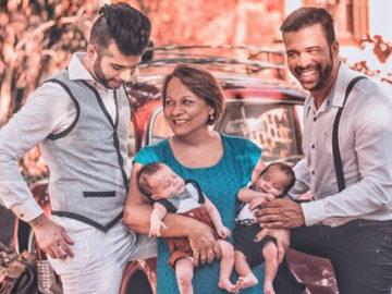 Mãe de 58 anos oferece barriga para filho e marido terem filhos em Capivari (SP) 1