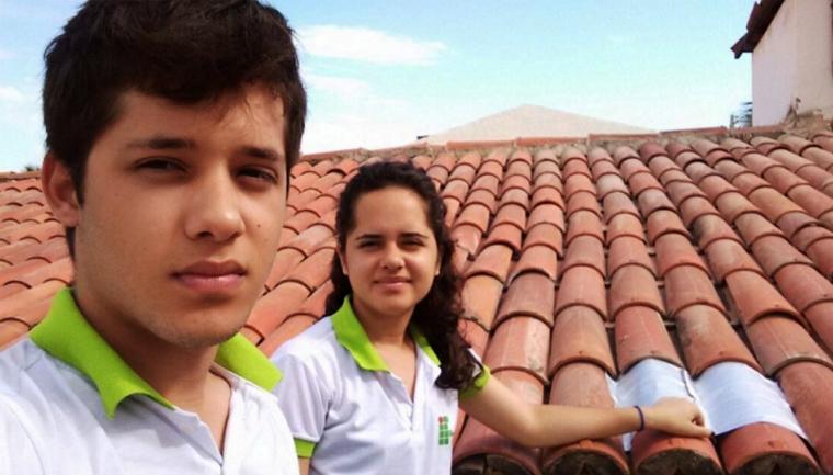 Jovens do Ceará usam caixas de leites para reduzir temperaturas nas casas e economizar energia 1