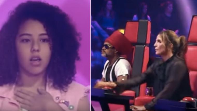 Candidata do The Voice Kids tosse durante apresentação e Ivete Sangalo dá aula de incentivo 1