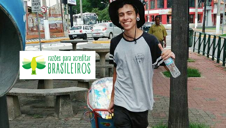 Jovem de Jacareí vende 'geladinho' para não dar mais despesas aos pais depois que se mudar pra SP 1
