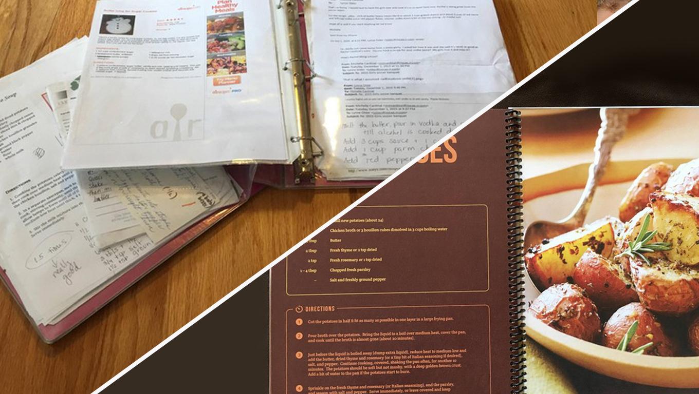 Designer refaz antigo caderno de receitas da mãe e o resultado é sensacional 1