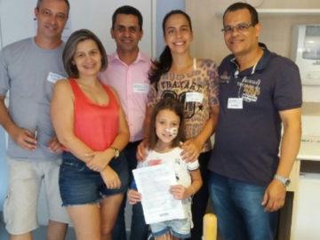 Policiais doam prêmio da Mega da Virada para custear tratamento de menina em Santo André (SP) 12