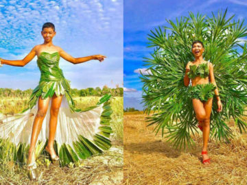 Garoto cria looks deslumbrantes inspirados na marca Victoria's Secret