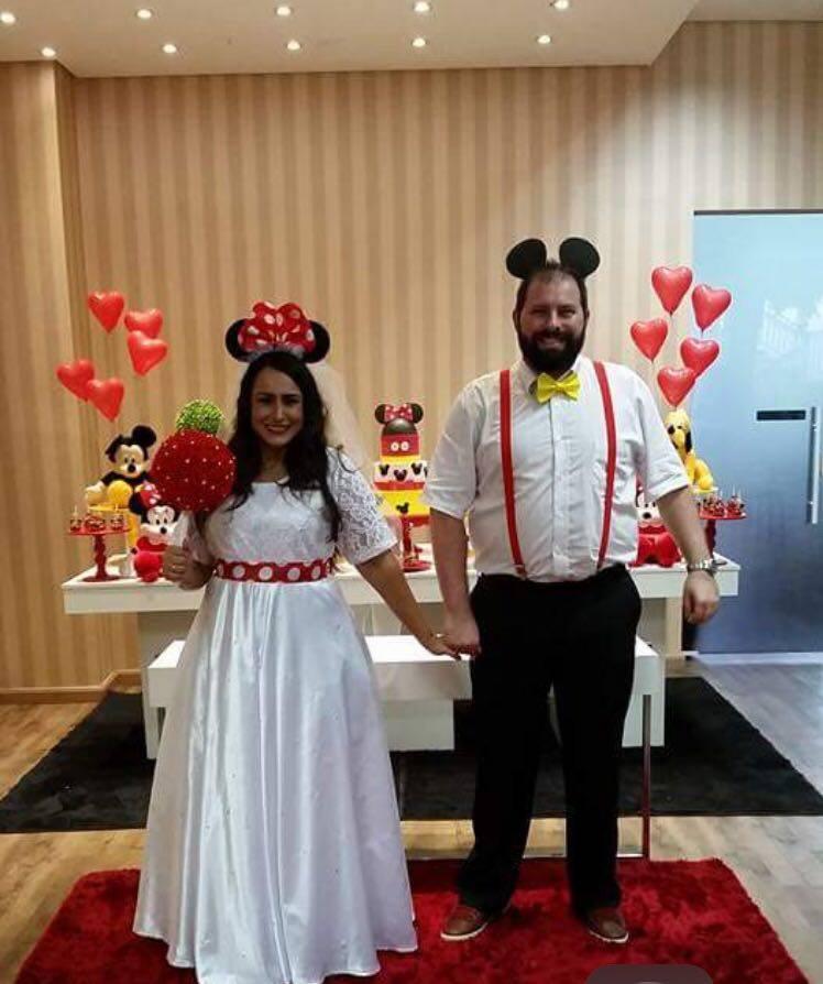 Joana e Luiz Gustavo decidiram mudar os convidados para festa de casamento