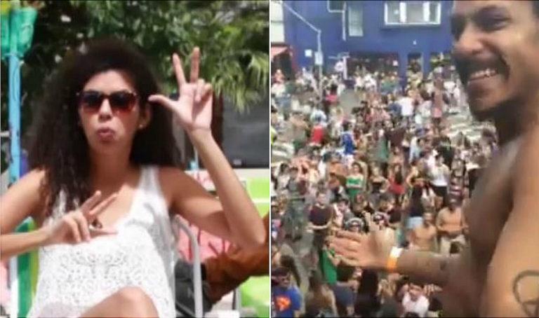 blocos de carnaval para surdos