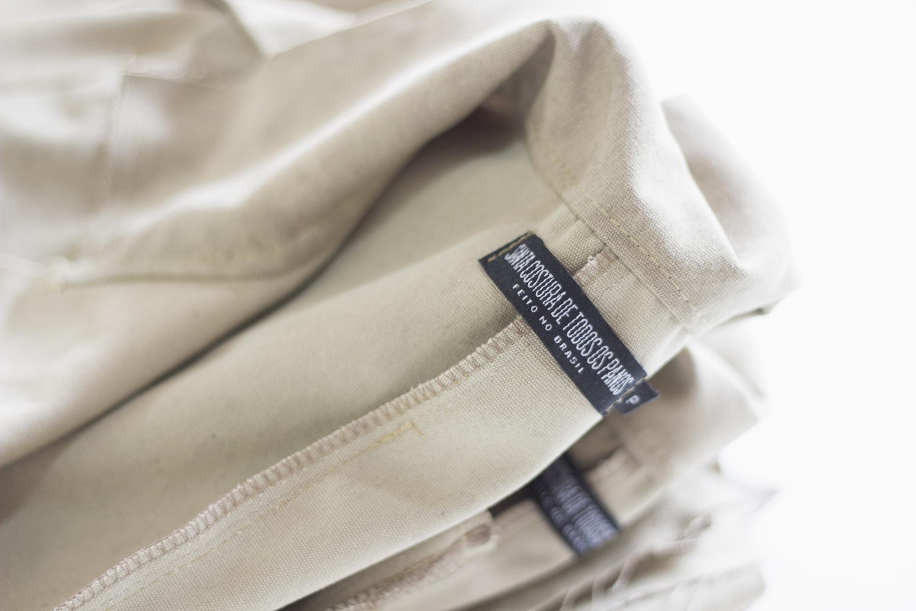 Marca slow fashion usa lonas e redes tirados do mar para criar coleção11