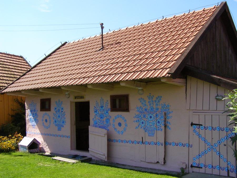 vilarejo colorido na Polônia 4