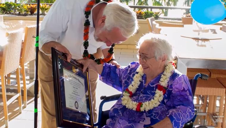 """Senhora de 94 anos se forma na faculdade: """"Tenho muito mais a aprender"""" 1"""