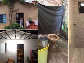 estudantes se unem para reformar casa de apoesentada