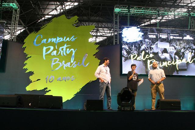 Campus Party é o maior evento de tecnologia do mundo