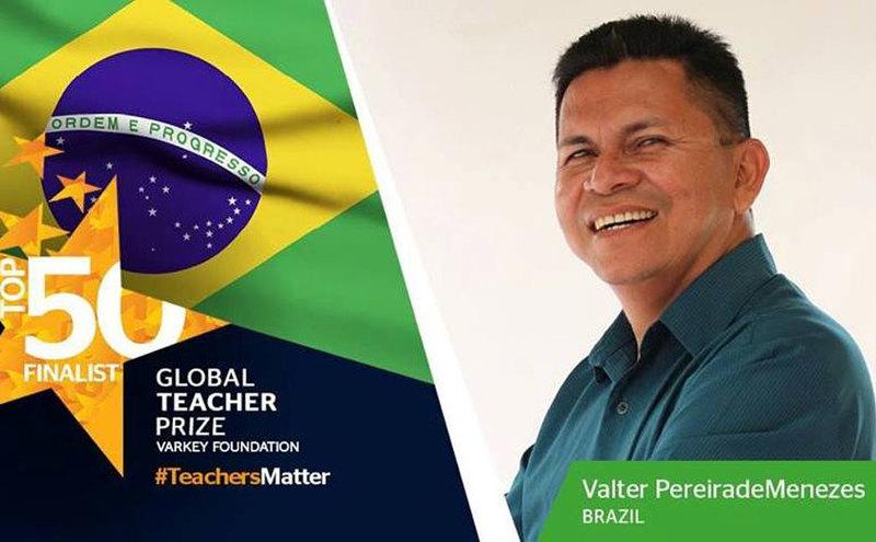 professor no Amazonas