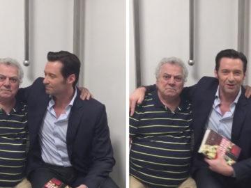 o encontro com dublador do Wolverine