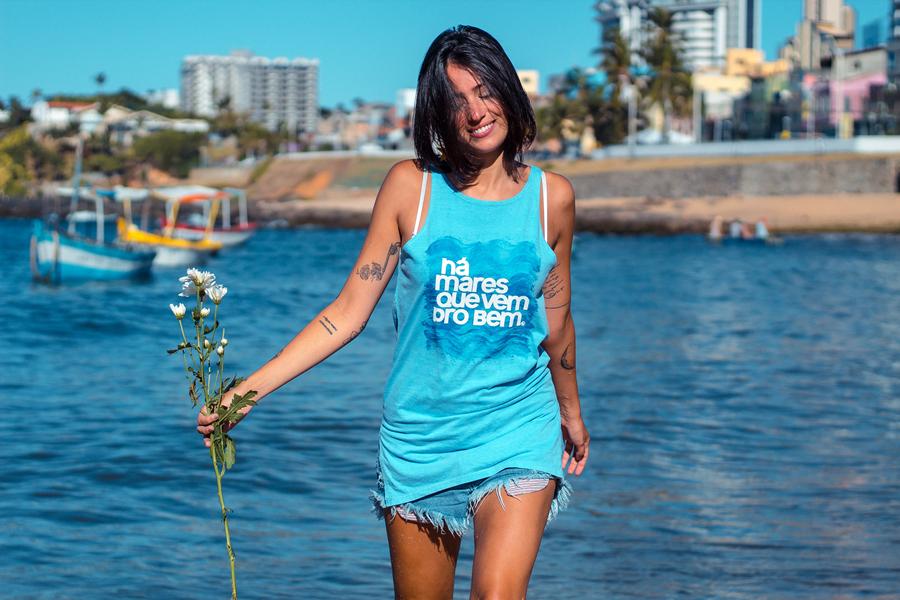 Marca de camisetas transforma vendas em ações sociais pelo Brasil 5