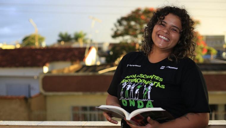 ex-interna Rayane dá aula para jovens infratores