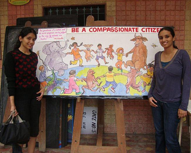 matéria escolar que ensina crianças a terem compaixão pelos animais