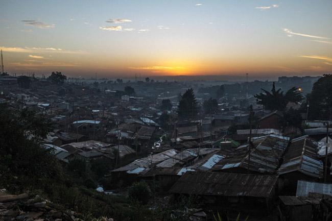 Balé no Quênia nas favelas
