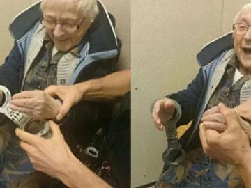 """senhora de 99 anos é """"presa"""""""