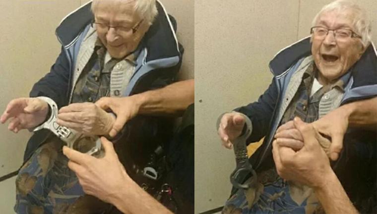 senhora de 99 anos é