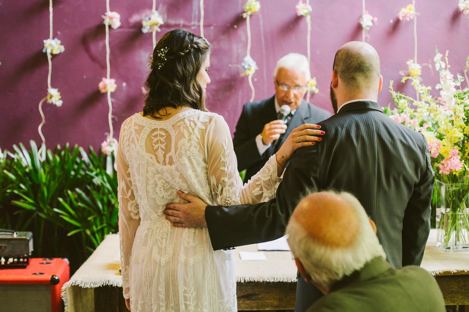 Casamento simples mostra que o amor é o que conta 6
