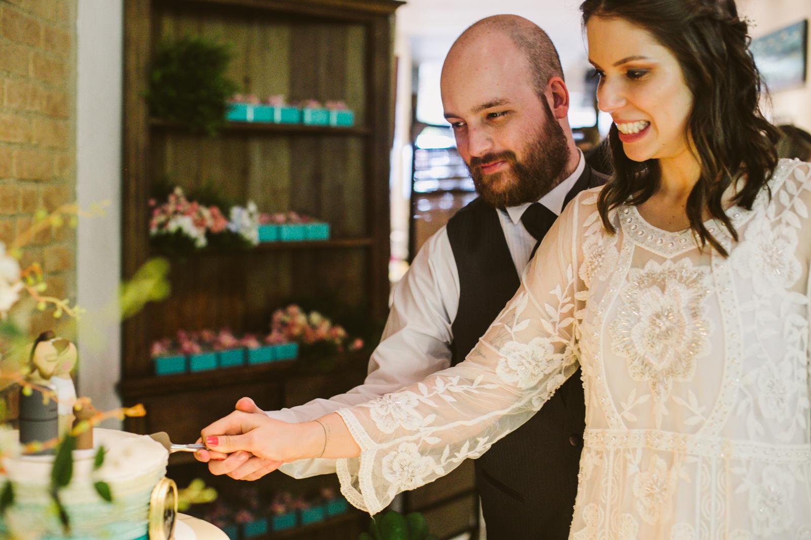 Casamento simples mostra que o amor é o que conta 9