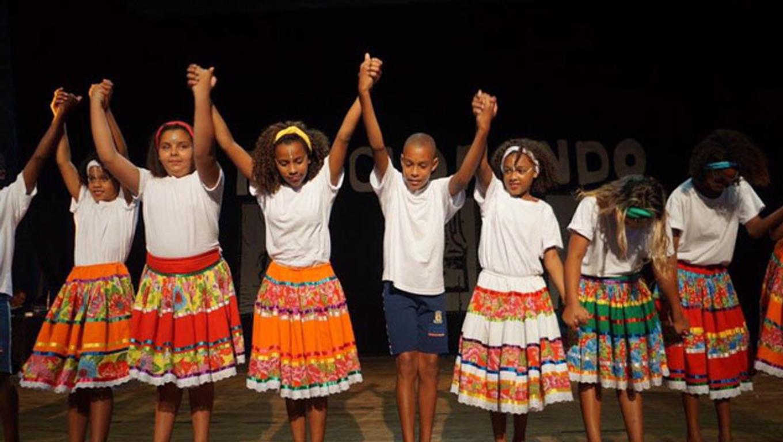 danças africanas na escola