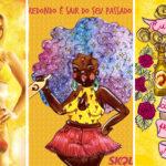 Skol convida ilustradoras para recriarem pôsteres machistas da marca 2