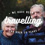 casal de idosos viaja o mundo