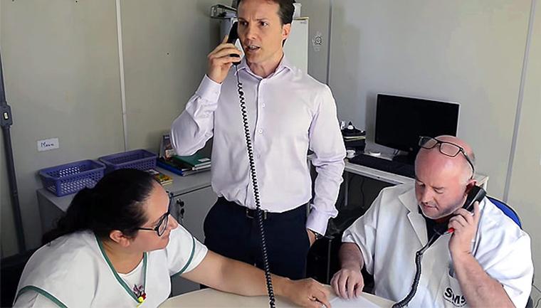 prefeito ligou para médico que estava fora do posto de saúde