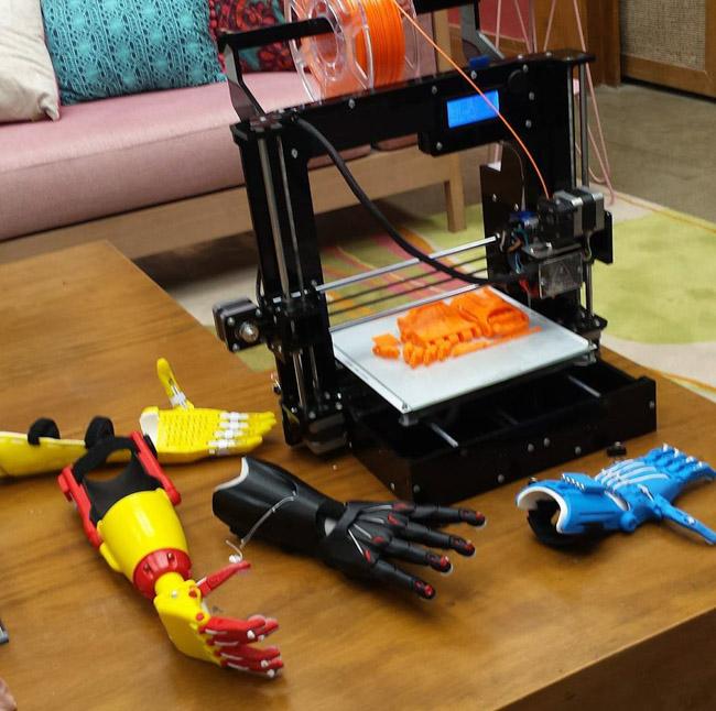Máquina de impressão 3D