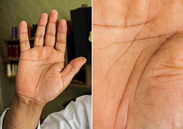 Fotógrafo conta a história de vida das pessoas através da palma de suas mãos 3