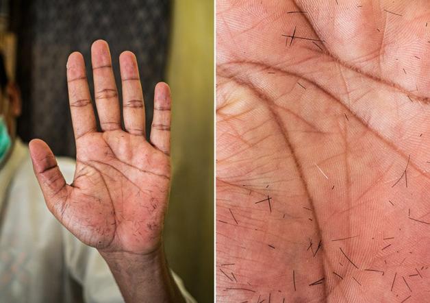 Fotógrafo conta a história de vida das pessoas através da palma de suas mãos 5