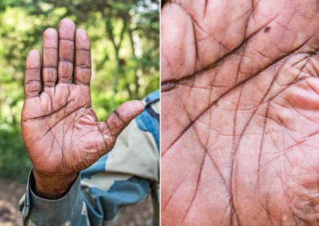 Fotógrafo conta a história de vida das pessoas através da palma de suas mãos 17