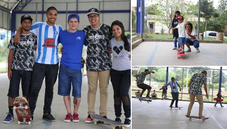 skate comunitário