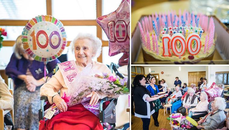 centenária ganha festa de desconhecidos