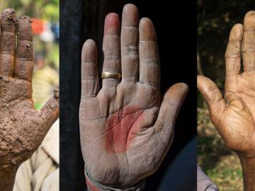 Fotógrafo conta a história de vida das pessoas através da palma de suas mãos 1