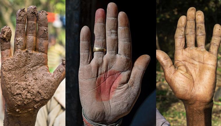 Fotógrafo conta a história de vida das pessoas através da palma de suas mãos 2