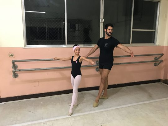 pai faz balé