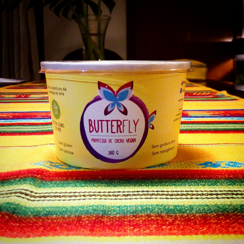 manteiga vegana Butterfly