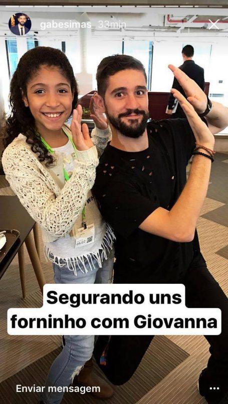 Reunião de memes: Chloe encontra Giovanna (do forninho) em São Paulo! 7