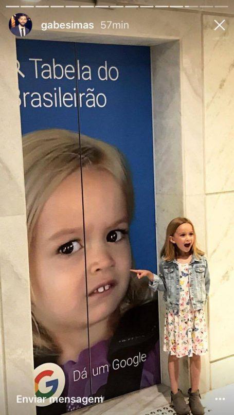 Reunião de memes: Chloe encontra Giovanna (do forninho) em São Paulo! 3